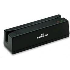 MANHATTAN Čtečka magnetických karet (snímač), USB