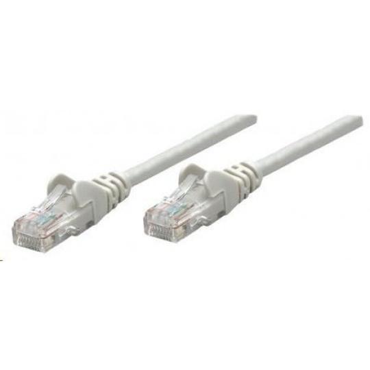 Intellinet patch kabel, Cat6A Certified, CU, SFTP, LSOH, RJ45, 5m, šedý