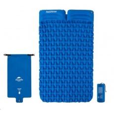 Naturehike nafukovací dvojitá karimatka FC-13 1300g - modrá
