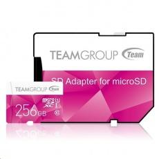 TEAM MicroSDXC karta 256GB Color Card U1 (R:80MB/s, W:20MB/s)