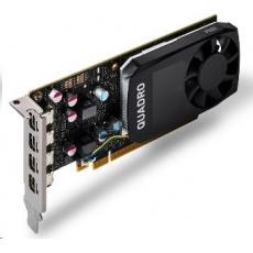 NVIDIA T600 4GB GDDR6, 4x miniDisplayPort 1.4, PCIe 16x, low profile