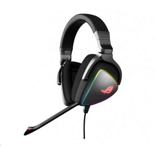 ASUS sluchátka ROG DELTA, Gaming Headset, černá
