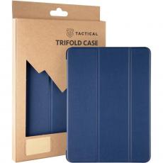 Tactical Book Tri Fold Pouzdro pro iPad 10.2. 2020 / 10.2 2019 Blue