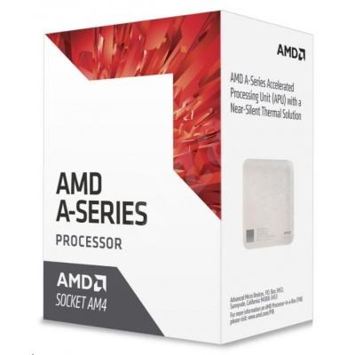 CPU AMD A10 9700E (Bristol Ridge), 4-core, 3.5GHz, 2MB cache, 35W, socket AM4, VGA Radeon R7, BOX
