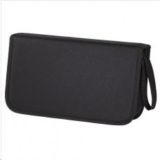 Hama puzdro CD Wallet Nylon 104, čierne