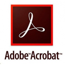 Acrobat Pro DC for teams Multiple Platforms EU English Subscription Renewal 1 User 1 Month Level 1 1-9