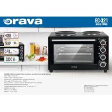 ORAVA EC-321 elektrická trouba