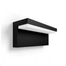 PHILIPS Nyro venkovní nástěnné svítidlo, HUE White and Color Ambiance, 230V, 1x13.5W, černá (1745630P7)