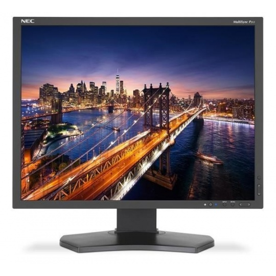 "NEC MT 21"" LCD MuSy P212 Black, IPS,1600x1200, 440cd, 1500:1, 8ms GTG, 14bit LUT, DVI-D+HDMI+DP+VGA"