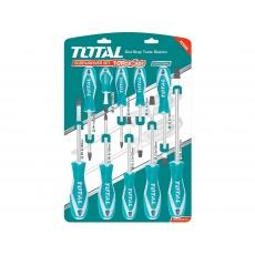 Total THT250610 šroubováky, sada 10ks, industrial, CrV