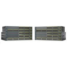 Cisco Catalyst 2960+48TC-S, 48x10/100, 2xGbE SFP/RJ-45