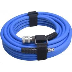 Extol Premium (8865147) hadice vzduchová, guma, s rychlospojkami, 1/4&quot, (6/12mm), 10m