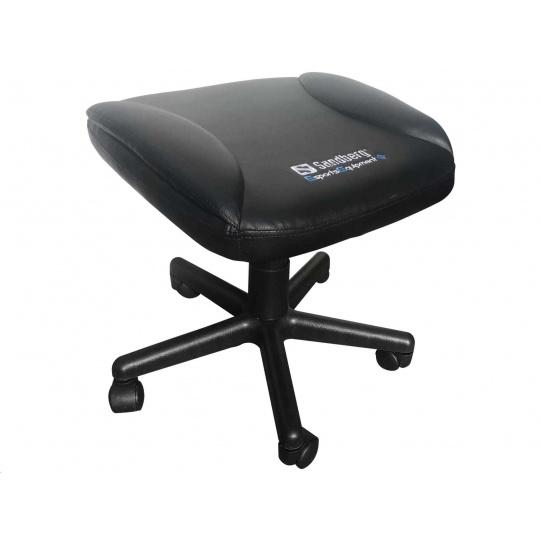 Sandberg herní stolička na nohy, černá