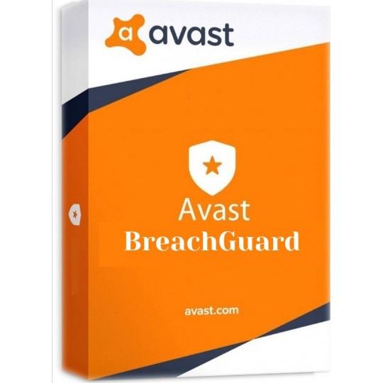 _Nová Avast BreachGuard 1PC na 36 měsíců - ESD
