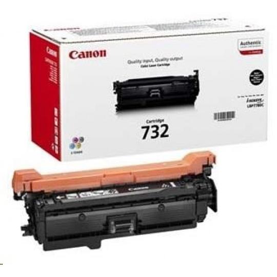 Canon LASER TONER CRG-732H BK 12 000 stran* - rozbaleno - BAZAR