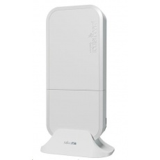 MikroTik wAP ac, white, nová revize 716GHz CPU, 128MB RAM, 2x LAN, integr. 2.4+5GHz Wi-Fi, MIMO, 2,5dBi anténa, vč. L4