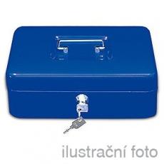 Přenosná pokladna WEDO 300, modrá