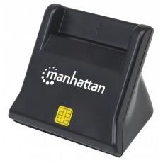 MANHATTAN Čtečka karet / SIM, kontaktní, černá
