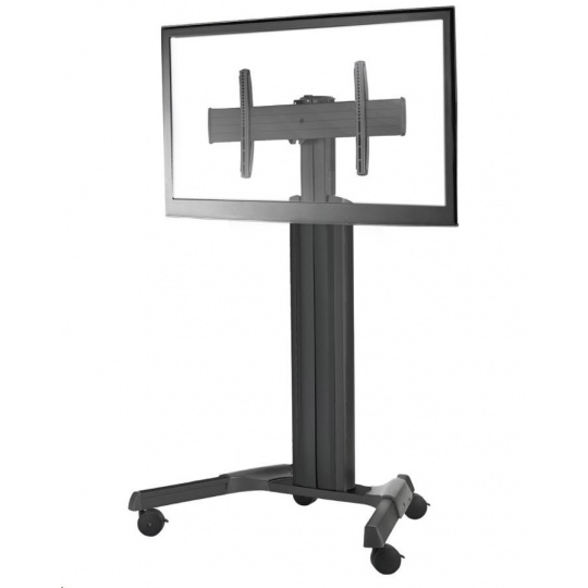 """NEC PDMHM-L - Large mobile manual height-adjustable trolley for LFDs from 40"""" to 80"""", up to 90 kg,"""