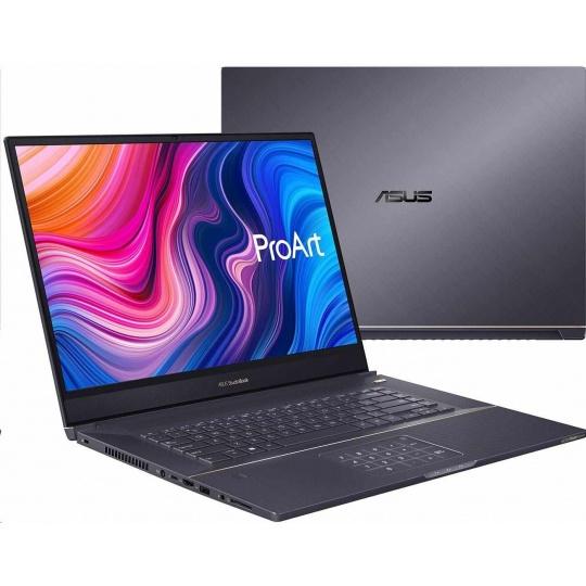 "ASUS NB ProArt StudioBook - 17"" IPS WUXGA,i7-9750H,16GB,1TBSSD,NVIDIA GeForce RTX 2060,W10H,Šedá"