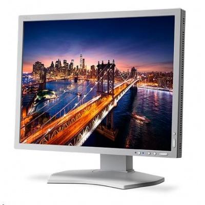 """NEC MT 21"""" LCD MuSy P212 White, IPS,1600x1200, 440cd, 1500:1, 8ms GTG, 14bit LUT, DVI-D+HDMI+DP+VGA"""