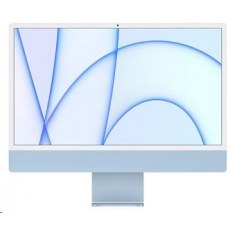 APPLE 24-inch iMac with Retina 4.5K display: M1chip with 8-core CPU and 7-core GPU, 256GB - Blue num.kb