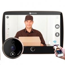 Eques VEIU Pro - digitální dveřní Wi-Fi kukátko