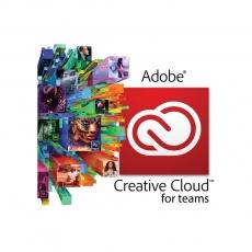 Creative Cloud for teams All Apps Multiple Platforms ML Licensing Subscription RNW 1 User Level 1 1-9 1 Month GOV