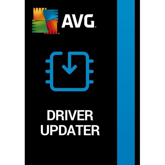 _Nová AVG Driver Updater - 3 zařízení na 24 měsíců ESD