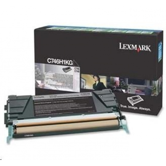 LEXMARK toner C746, C748 Black High Yield Return Program Toner Cartridge