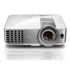 BENQ PRJ MS630ST DLP, SVGA,4000 ANSI ,13000:1, 1.2X,  D-sub, HDMI, USB, S-Video, Reproduktor 10W x 1