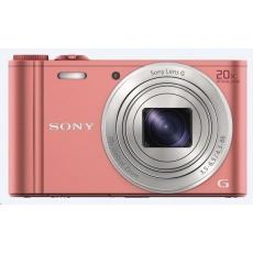 SONY DSCWX350P Cyber-Shot 18.2MPix, 20x zoom, Wi-Fi - růžový