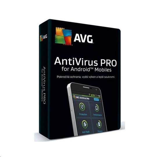 _Nová AVG Antivirus pro Android Pro - 1 zařízení na 24 měsíců ESD