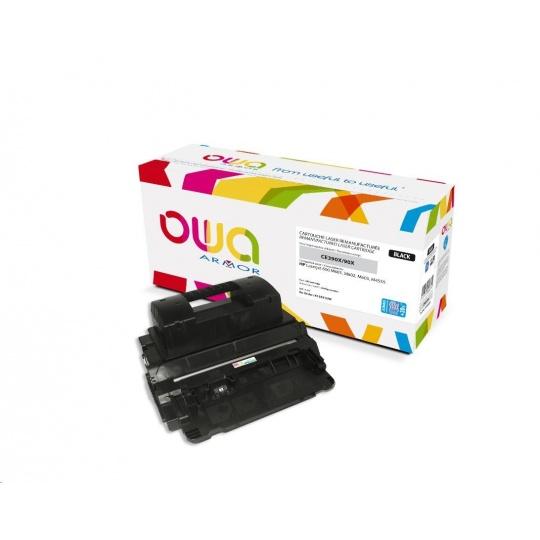 OWA Armor toner pro HP Laserjet 600 M602, M603, M4555 , 32000 Stran, CE390X JUMBO, černá/black