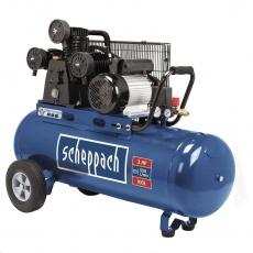 Scheppach HC 550 tc - olejový tříválcový řemenový kompresor 100 l
