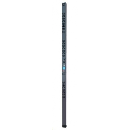 APC Rack PDU 2G, Metered-by-Outlet, ZeroU, 16A, 230V, (21)C13 & (3)C19, IEC-309 16A 2P+N 3m
