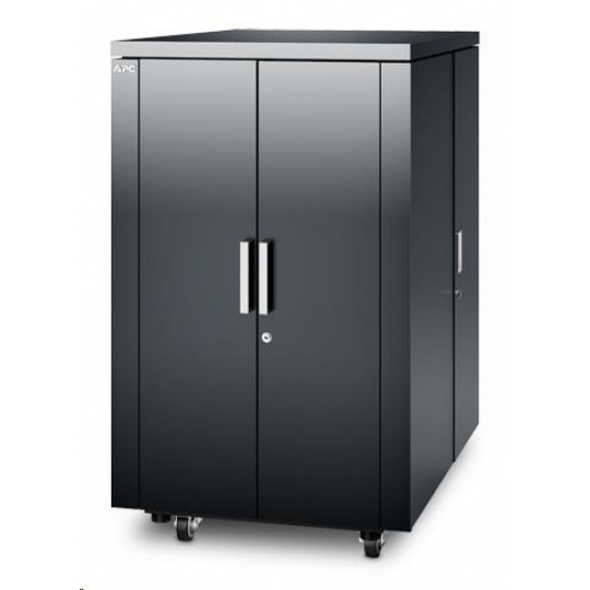 APC NetShelter CX 18U 750 mm Wide x 1130 mm Deep Enclosure Dark Grey Finish Intl