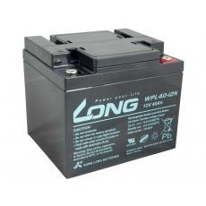LONG baterie 12V 40Ah M6 LongLife 12 let (WPL40-12N)