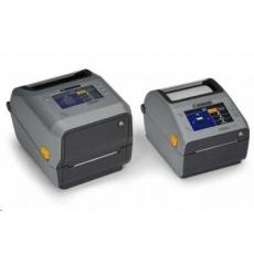 Zebra ZD621t, 8 dots/mm (203 dpi), cutter, disp., RTC, USB, USB Host, RS232, BT, Ethernet, Wi-Fi, grey