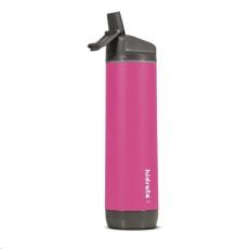 HidrateSpark Steel – chytrá lahev, 620 ml, růžová