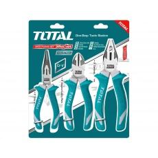 Total THT2K0301 kleště, sada 3ks, industrial, CrV