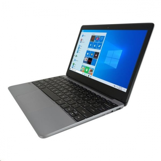 "UMAX NB VisionBook 12Wr Gray - 11,6"" IPS FHD 1920x1080,Celeron N4020@1,1 GHz,4GB,64GB,Intel UHD,W10P,Šedá"