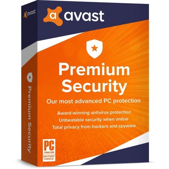 _Nová Avast Premium Security Multi-Device 1 licence na 24 měsíců (až na 10 PC )