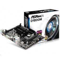 ASRock MB Int.procesor D1800M, 2xDDR3, VGA, mATX