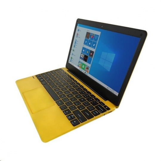 "UMAX NB VisionBook 12Wr Yellow - 11,6"" IPS FHD 1920x1080,Celeron N4020@1,1 GHz,4GB,64GB,Intel UHD,W10P,Žlutá"