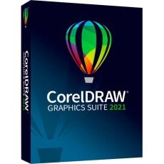 CorelDRAW Graphics Suite 2021 Enterprise License (includes 1 Yr CorelSure Maintenance)(1-4) EN/DE/FR/ES/BR/IT/CZ/PL/NL