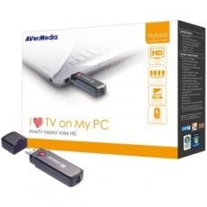 """BAZAR AVERMEDIA AverTV Hybrid Volar HD USB, externí TV tuner (kompletní balení) """"REPAIRED"""""""