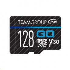 TEAM MicroSDXC karta 128GB GO CARD U3 (R:90MB/s, W:45MB/s)