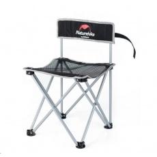 Naturehike skladací židle 1300g - černá