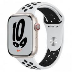 Apple Watch Nike Series 7 Cell, 45mm Star./Plat./Black Nike SportBand